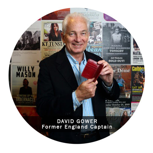 Supported by David Gower England Cricket Captain