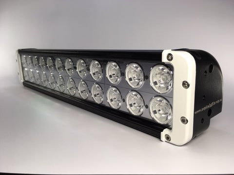 "ZLB-20XGW - 20"" ZOMBIE GHOST WHITE"" LED Lightbar - includes FREE Harness & Shipping"