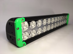 "ZLB-20XEG - 20"" 'ZOMBIE ENVY GREEN"" LED Lightbar - includes FREE Harness & Shipping"