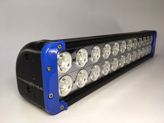 "ZLB-20XIB - 20"" ""ZOMBIE INFINITY BLUE"" LED Lightbar - includes FREE Harness & Shipping"