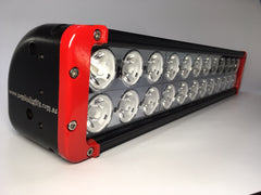 "ZLB-20XIR - 20"" ""ZOMBIE INFERNO RED"" LED Lightbar - includes FREE Harness & Shipping"