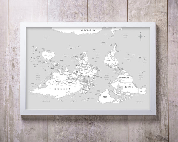 Unique World Map