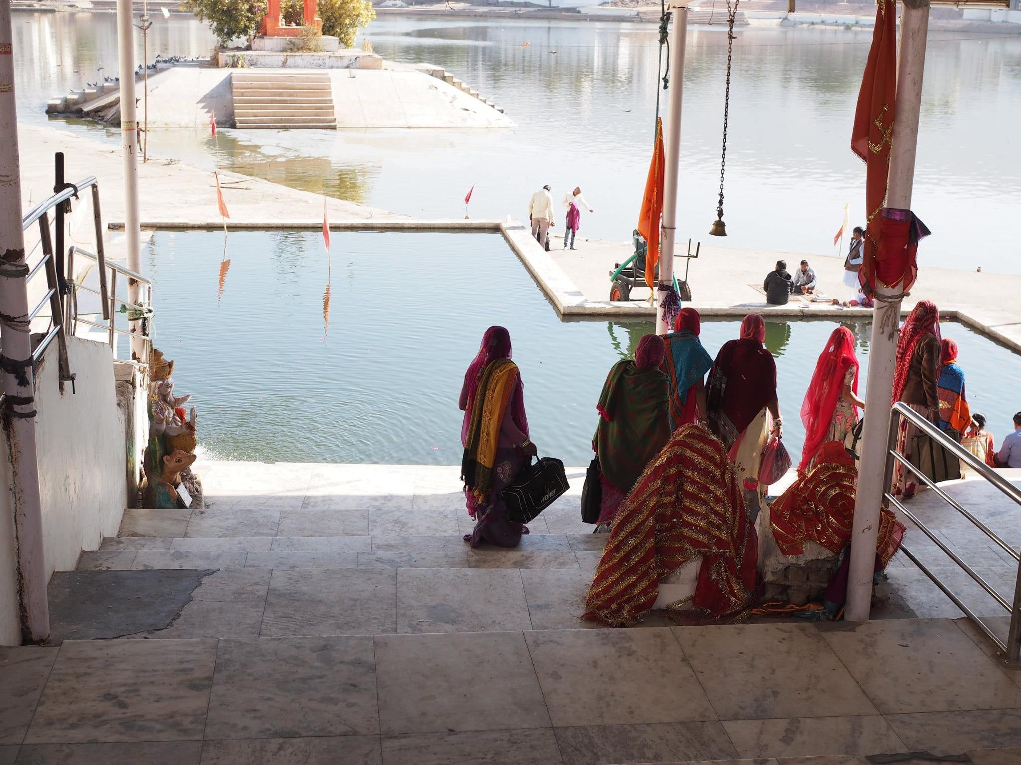 Pushkar Lake India