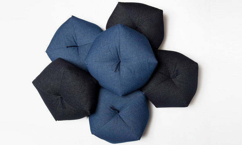 Japanese cushion denim