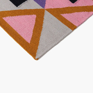 Aelfie Rug Cotton Wool The Morgan Colour Detail