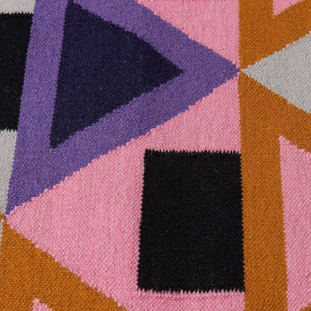 Aelfie Modern Designer Floor Rug Morgan Colour Detail