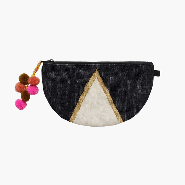 Langdon LTD  Ladies Clutch Bag Jewel Round
