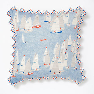 Cushion Safomasi Regatta Print front