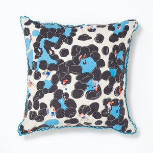 Cushion Safomasi Rockpool Print Back