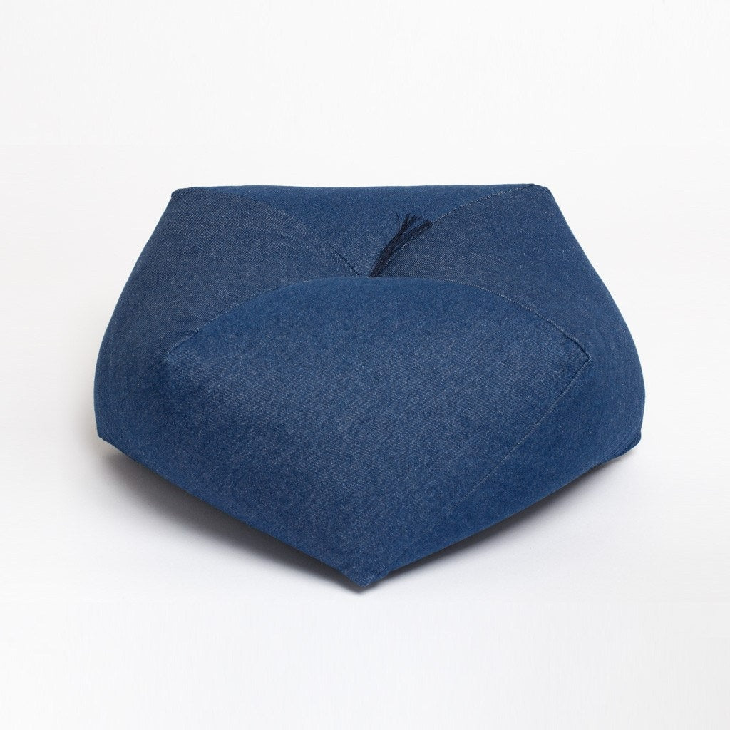 Japanese cushion denim medium wash