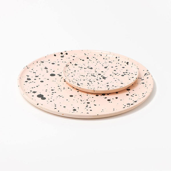 The Vintage Vogue Blush Decorative Wooden Tray