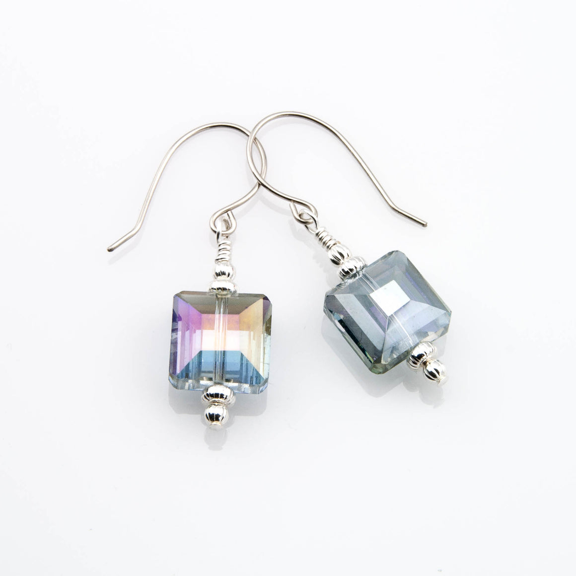 Aurora Borealis Reflection Earrings