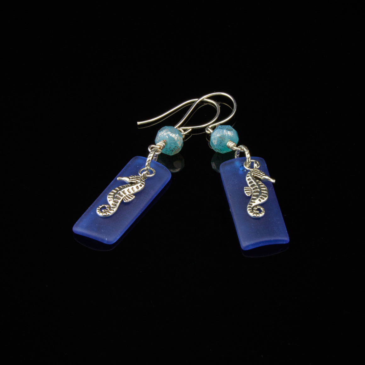 Horses of the Reef Earrings