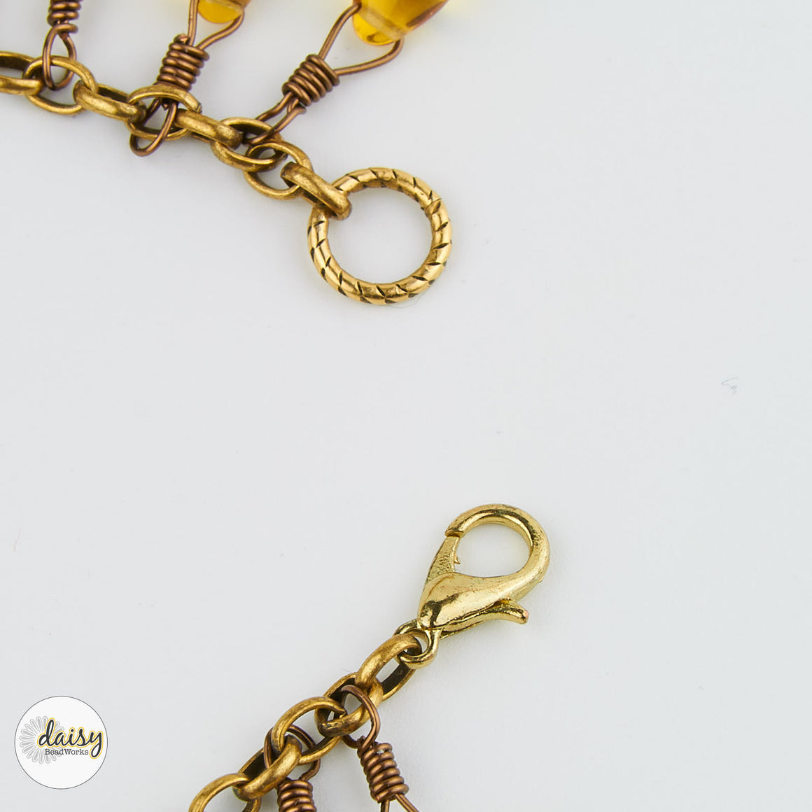 Honey Droplet Bracelet