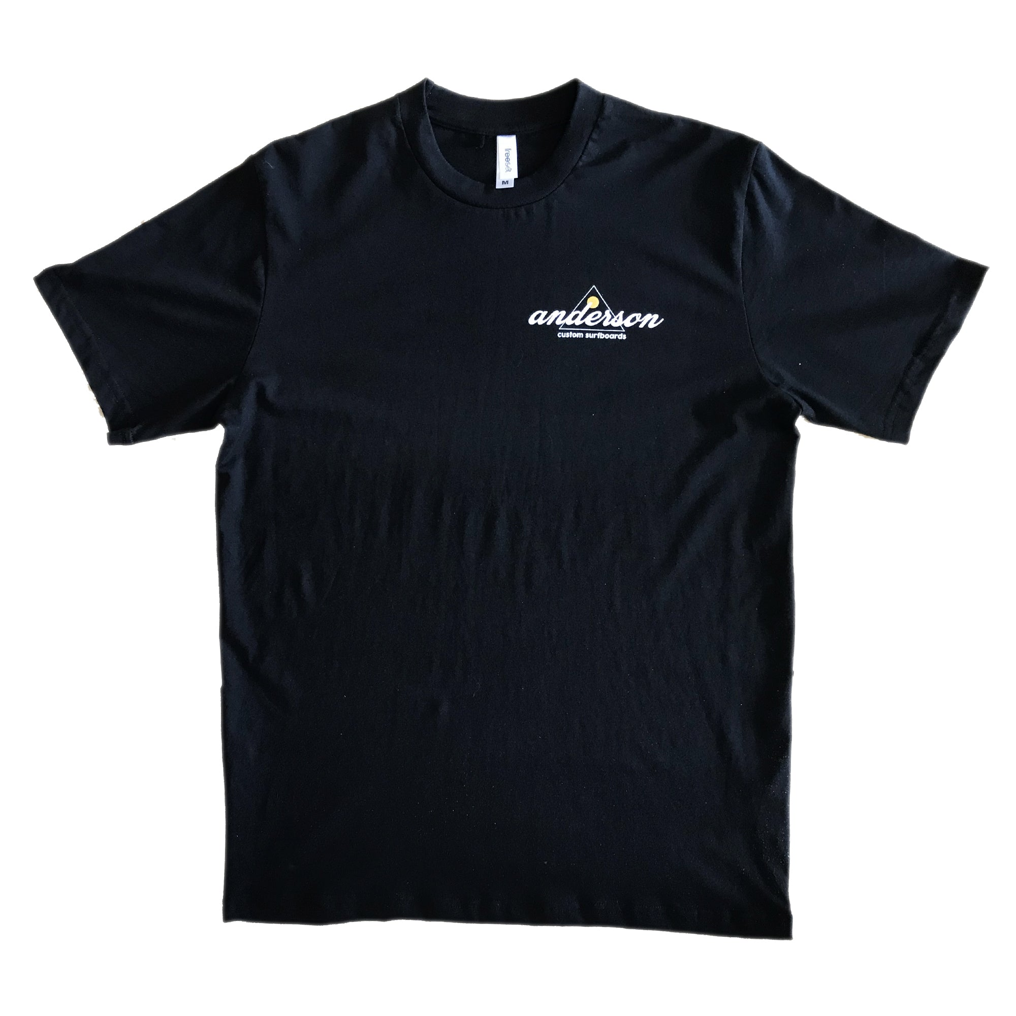 SUNSET FAIR TRADE TEE BLACK