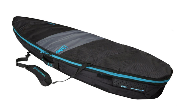 CREATURES SHORTBOARD DAY USE SURFBOARD BAG: CHARCOAL CYAN