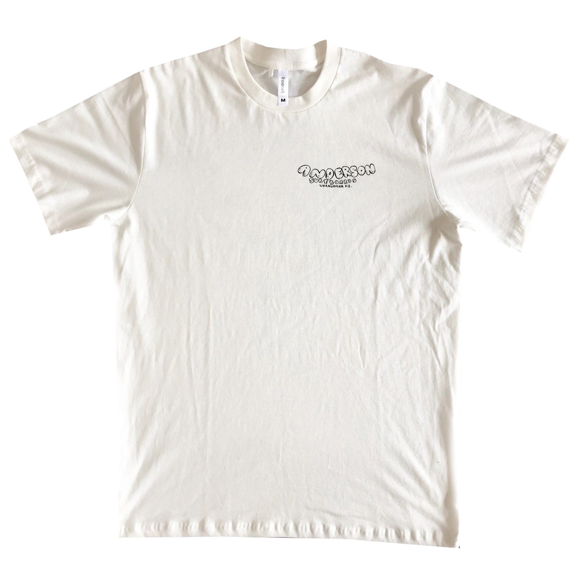 CHURATARA FAIRTRADE TEE OFF WHITE