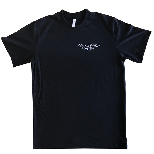 FAMOUS WHANGA FAIRTRADE TEE BLACK