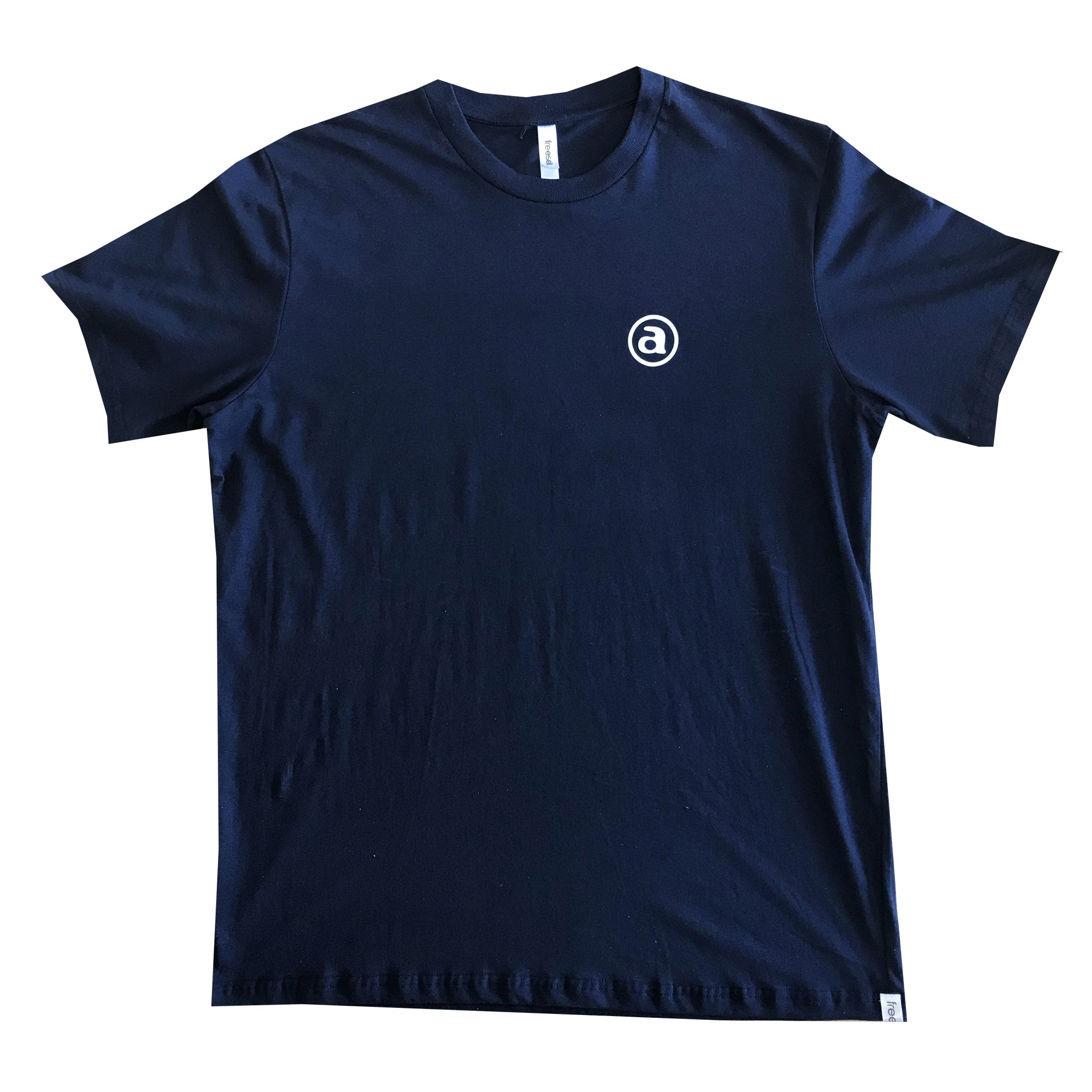 FACTORY FAIRTRADE TEE NAVY