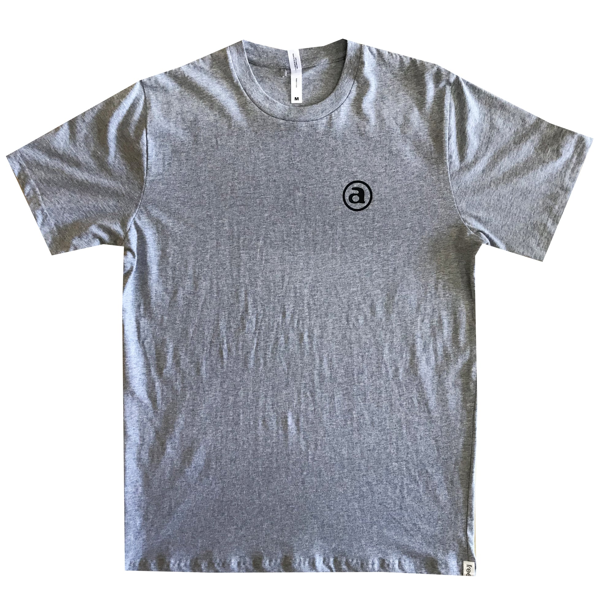 FACTORY FAIRTRADE TEE GREY MARLE