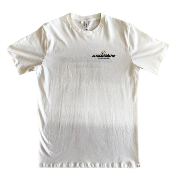 SUNSET FAIR TRADE TEE OFF WHITE