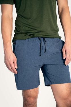 "Reflex 2-in-1 7"" Shorts Mineral Blue"