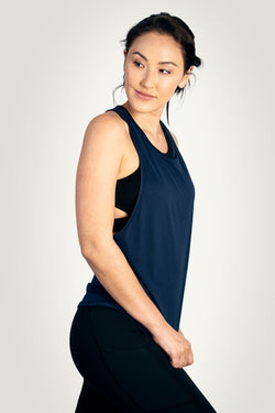 0819 KYDRA - Navy Softer Than You Tank 1
