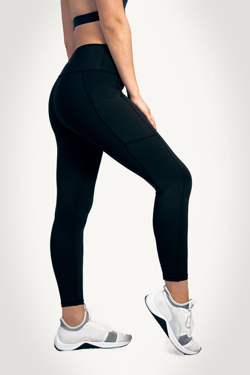 0819 KYDRA - Black Movement Leggings 4