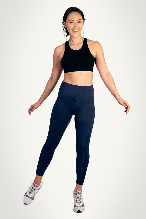 0819 KYDRA - Navy Movement Leggings 2