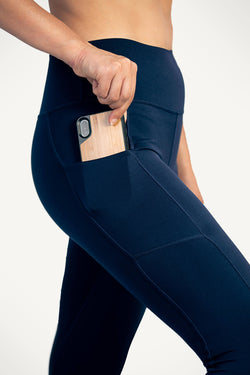 0819 KYDRA - Navy Movement Leggings 1