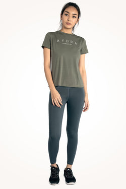 Olive Essential Tee [XS & S]