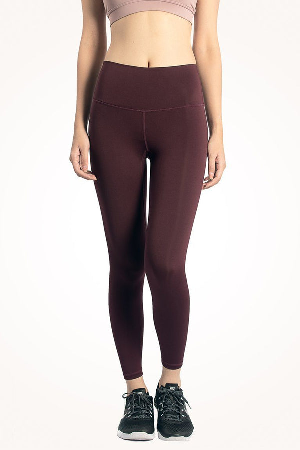 Maroon Flow Leggings [XL]