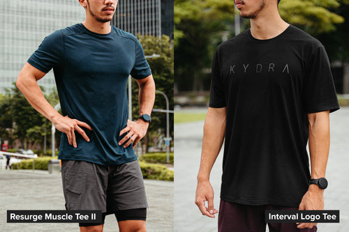 Relaxed fit and slim fit comparison