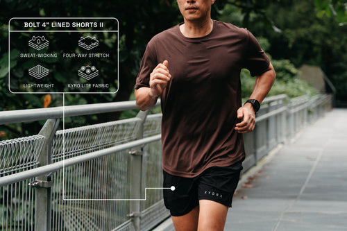 4 inch shorts for running