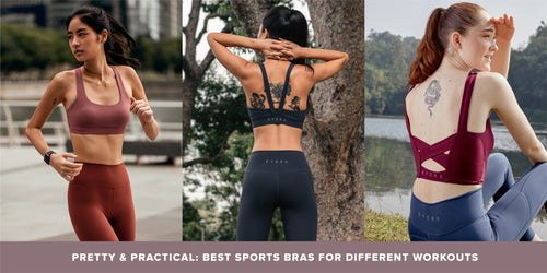 Pretty and Practical: Best Sports Bras For Different Workouts