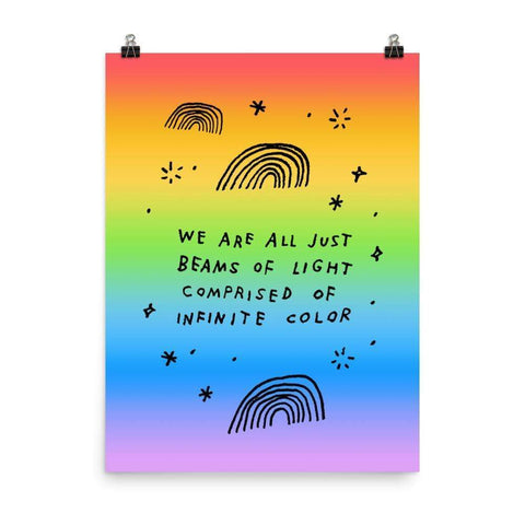 Beams Of Light Print 18×24 ADAMJK