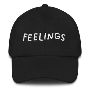 FEELINGS Hat Black ADAMJK