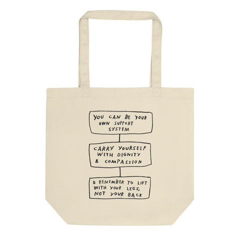 Carry Yourself Tote ADAMJK