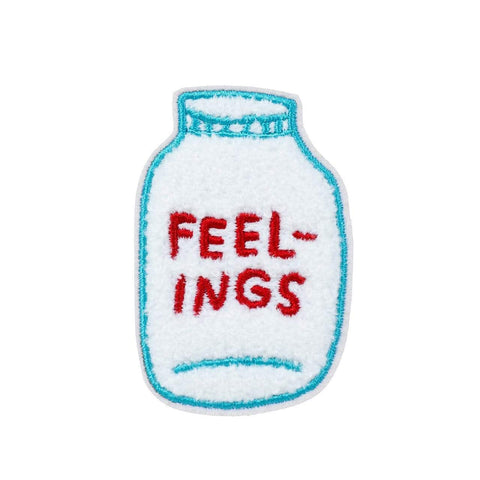 FEELINGS Chenille Patch ADAMJK