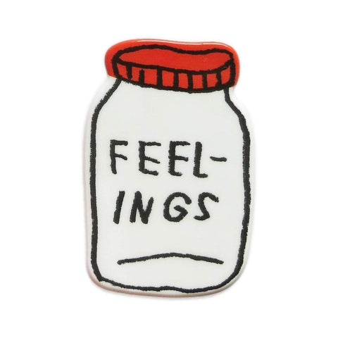 Feelings XL Puffy Sticker ADAMJK