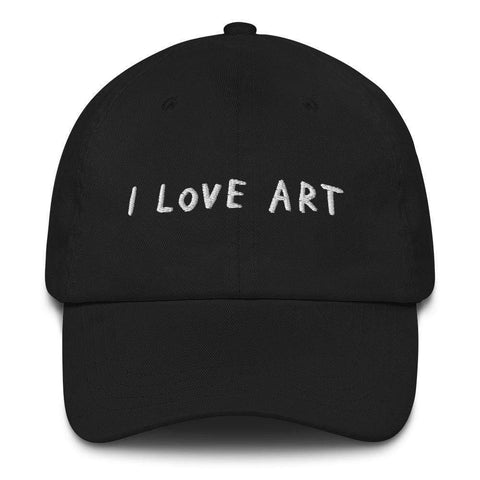 Art Hat I Love Art ADAMJK