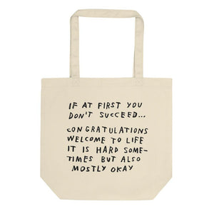 If At First You Don't Succeed Tote ADAMJK