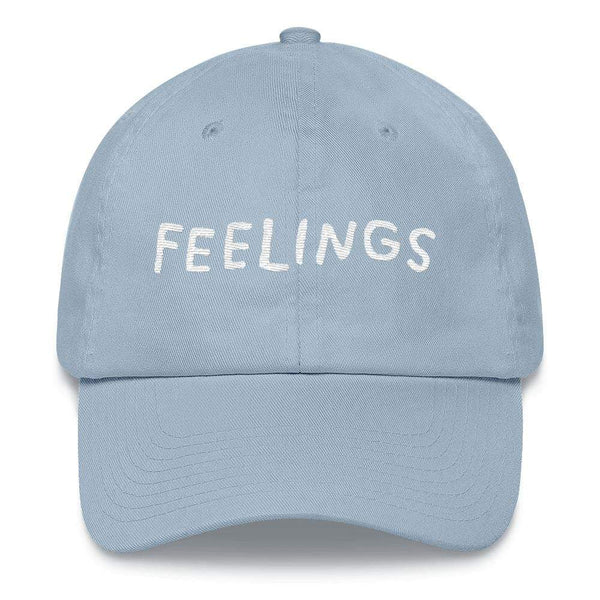 FEELINGS Hat Light Blue ADAMJK