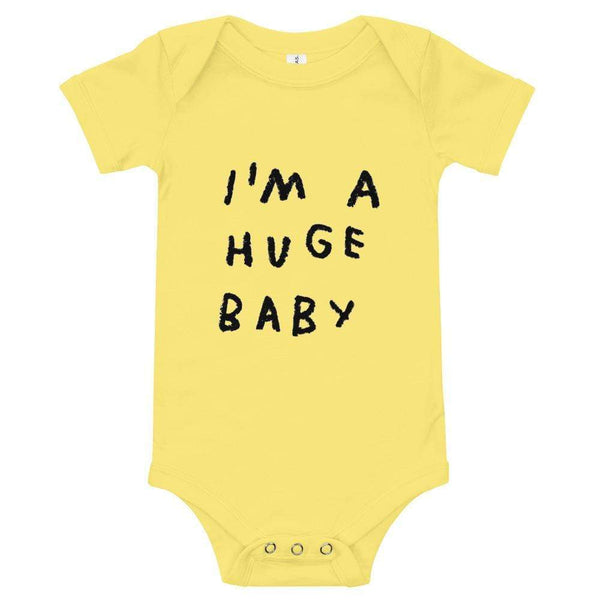 Huge Baby Onesie Yellow / 3-6m ADAMJK