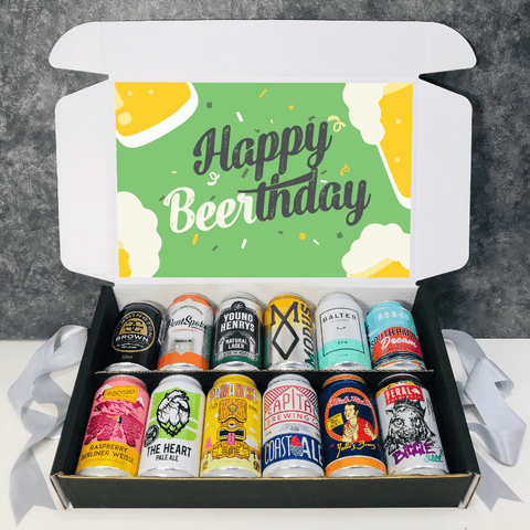 Birthday 12 Pack Beer Gift