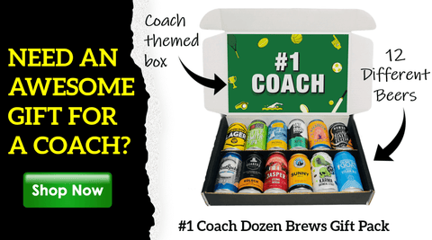 Sports Coach Beer Gift