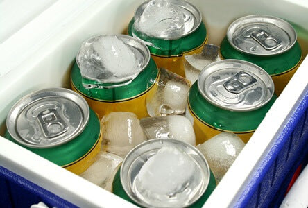 Cans In Esky
