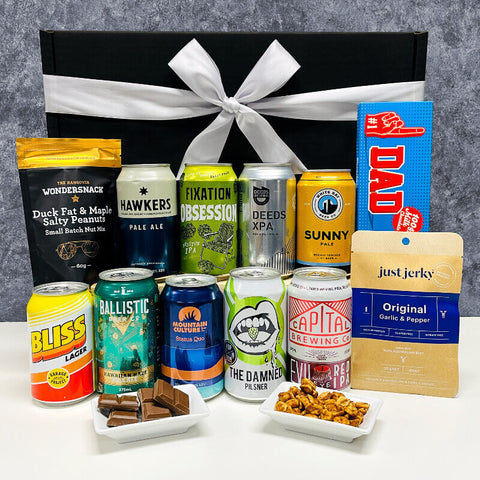 Father's Day Beer and Snacks Hamper Australia