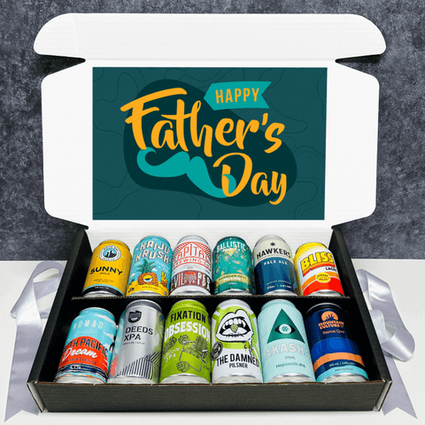 Fathers Day Beer 12 Pack Gift