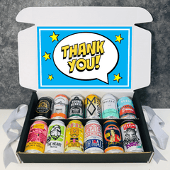 Thank You Beer Gift 12 Pack